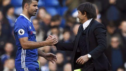 Conte no habla de las ofertas chinas de Costa: Solo tiene un dolor de espalda