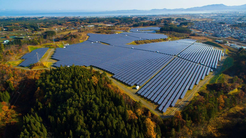 Foto de archivo de una planta fotovoltaica en Japón. (Reuters)