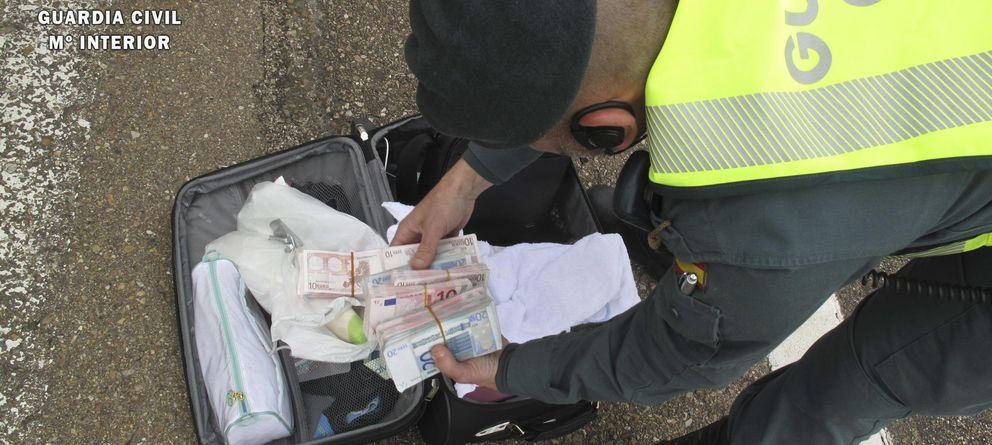 Foto: Incautación de dinero en Badajoz. (Guardia Civil)