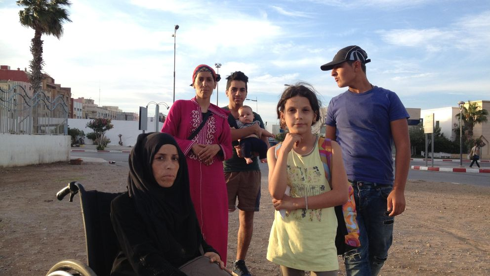 """""""Necesitamos que nos ayuden, Marruecos no nos deja pasar a Europa"""""""