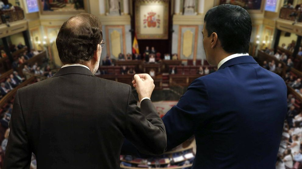 Rajoy y Sánchez son el tapón