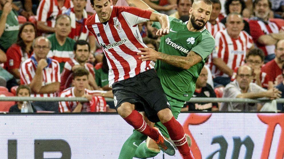 Foto: Athletic vs. Panathinaikos (EFE)