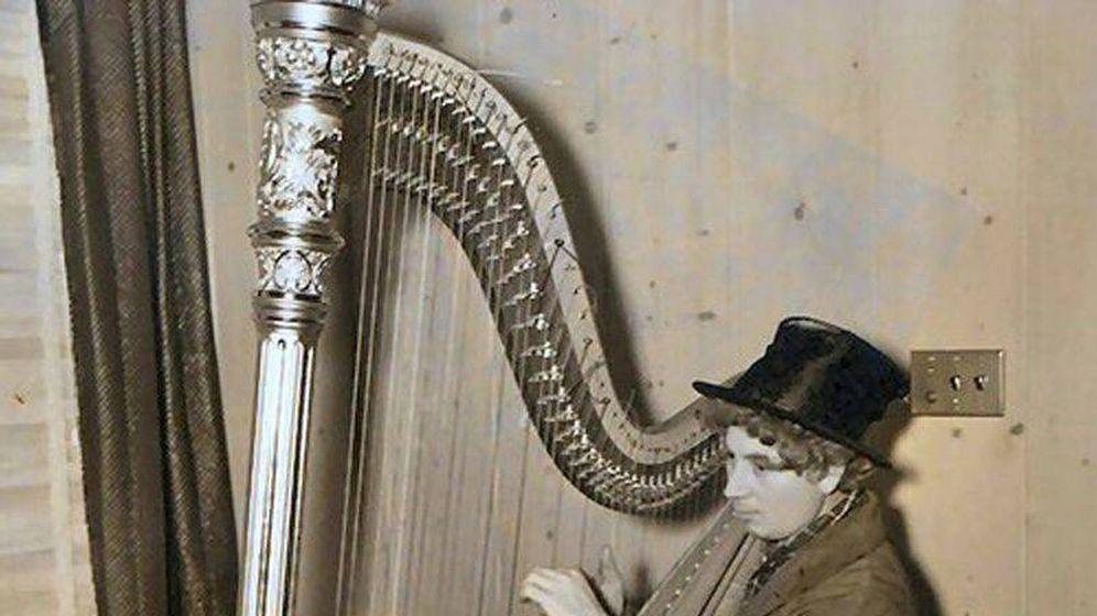 Foto: Una foto de archivo de Dalí y Harpo Marx