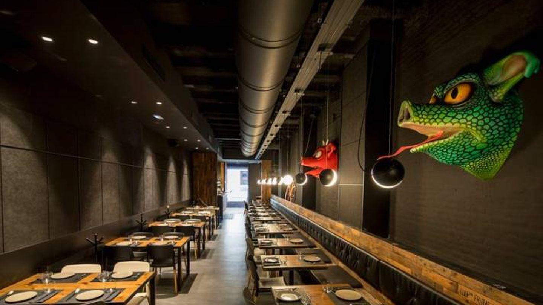 El interior del restaurante Canalla Bistró también sorprende. (Cortesía)
