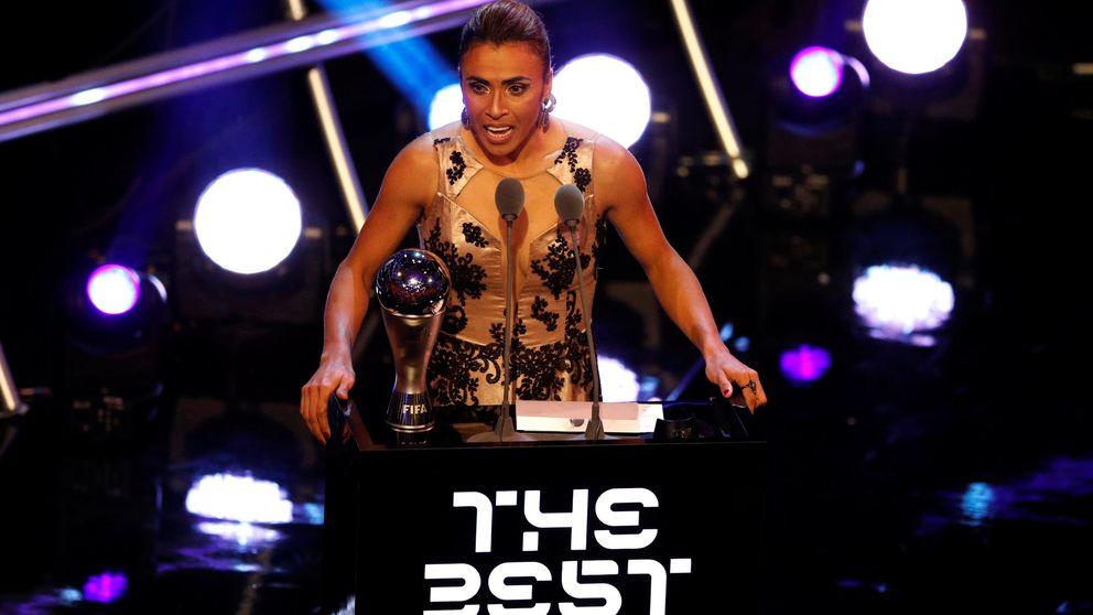 La brasileña Marta, premio The Best 2018 a la mejor jugadora de la FIFA