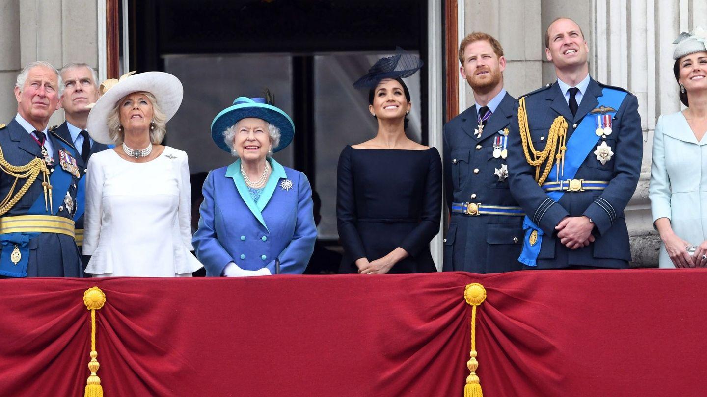 La familia real inglesa. (EFE)