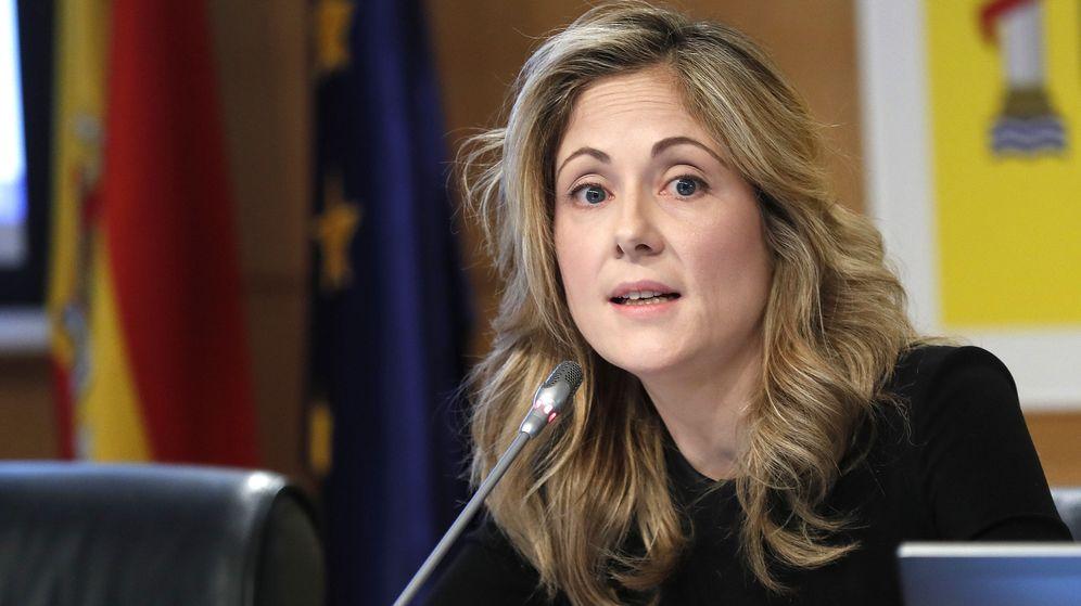 Foto:  La secretaria de Estado del Tesoro, Emma Navarro