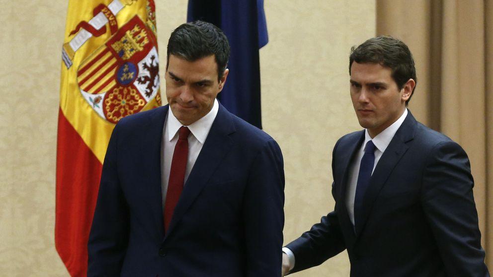 C's dinamita la negociación ante el avance de Podemos y PSOE