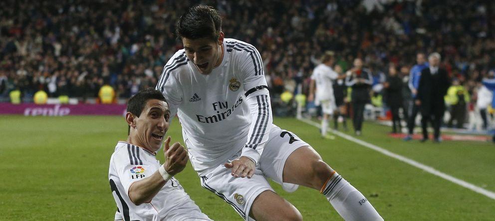 Foto: El Madrid valora a Di María en 50 millones y a Morata en 30 'kilos' (Reuters).