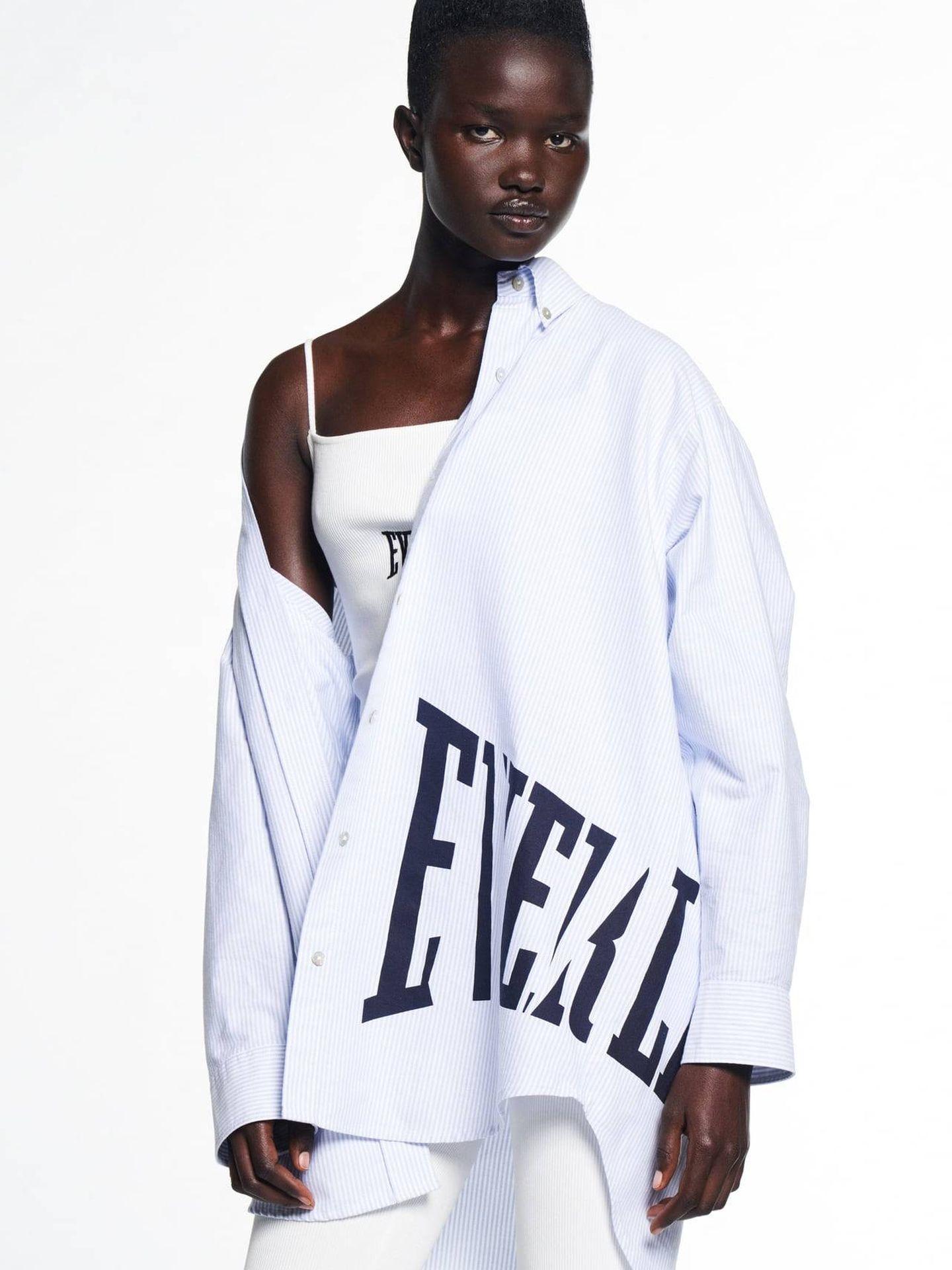 Camisa Everlast de Zara. (Cortesía)