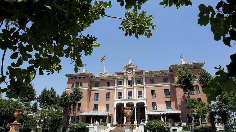 Foto: Hotel Villa Padierna de la localidad de Benahavís. (EFE)
