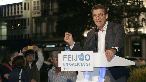 El PSOE cree que Feijóo esconde el logo pero es más del PP que las gaviotas