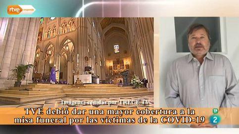 RTVE se defiende por no emitir la misa por los muertos del coronavirus