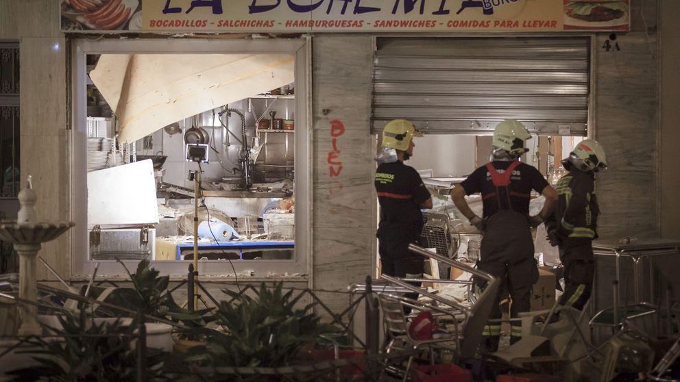 90 heridos tras una explosión de gas en una cafetería de Vélez-Málaga