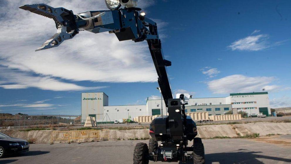 Los robots españoles que luchan contra el terrorismo y las minas antipersona