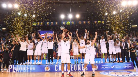 La otras ligas ACB que el Real Madrid ha conquistado en Barcelona