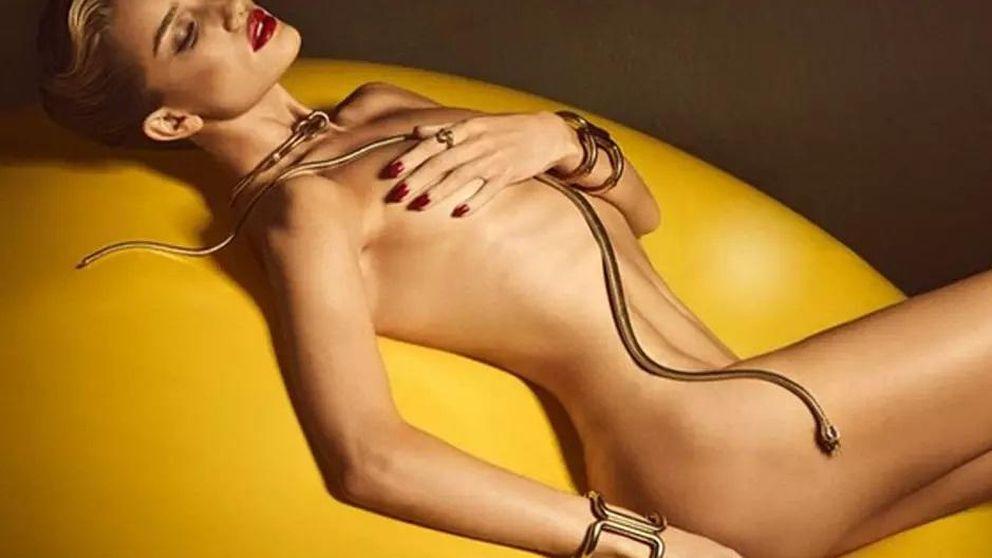 Rosie Huntington, la 'femme fatale' que crea adicción con sus desnudos