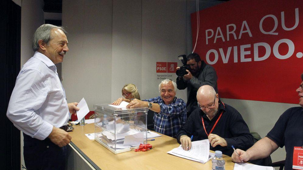 Foto: El líder del PSOE en Oviedo, Wenceslao López (Efe)
