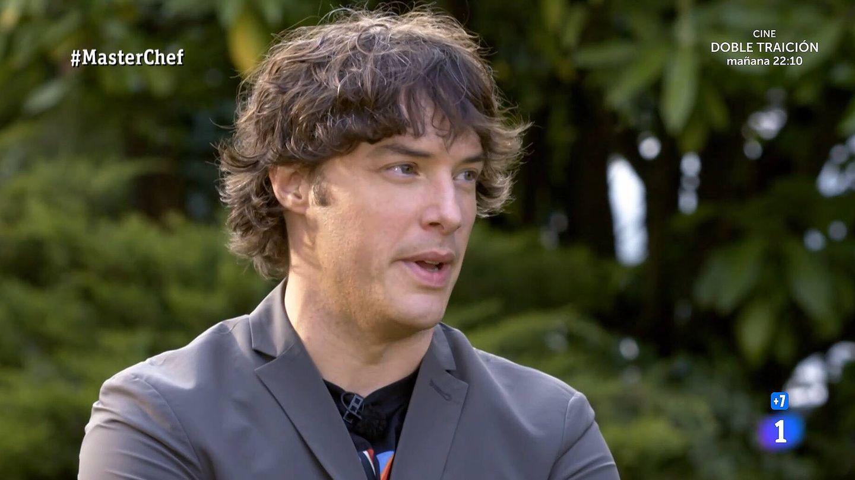 Jordi Cruz, en 'MasterChef'. (TVE)