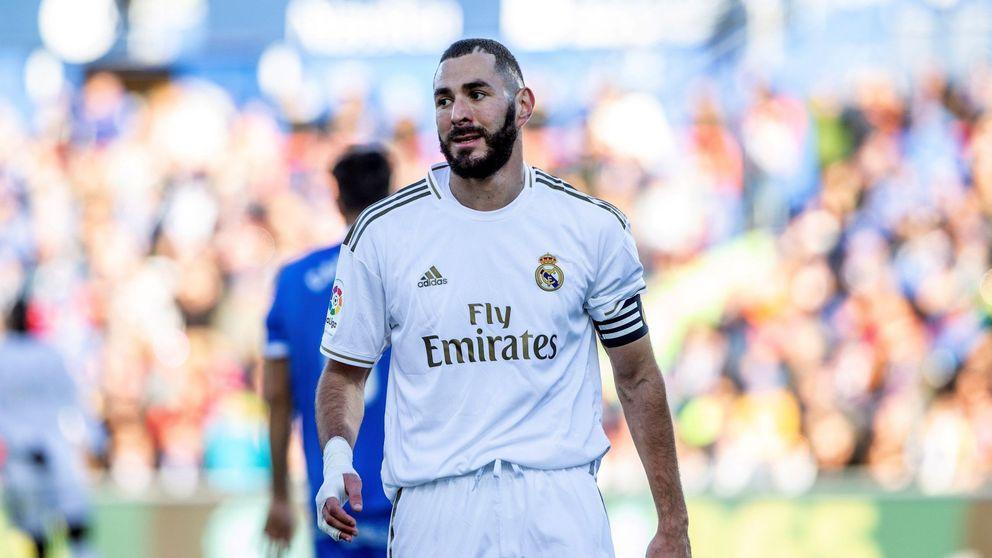 La baja de Benzema, el parte médico de Bale y examen que le espera a Jovic