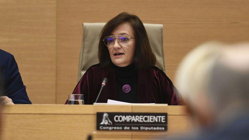 Foto: La nueva presidenta de la Autoridad Independiente de Responsabilidad Fiscal (AIReF), Cristina Herrero. (EFE)