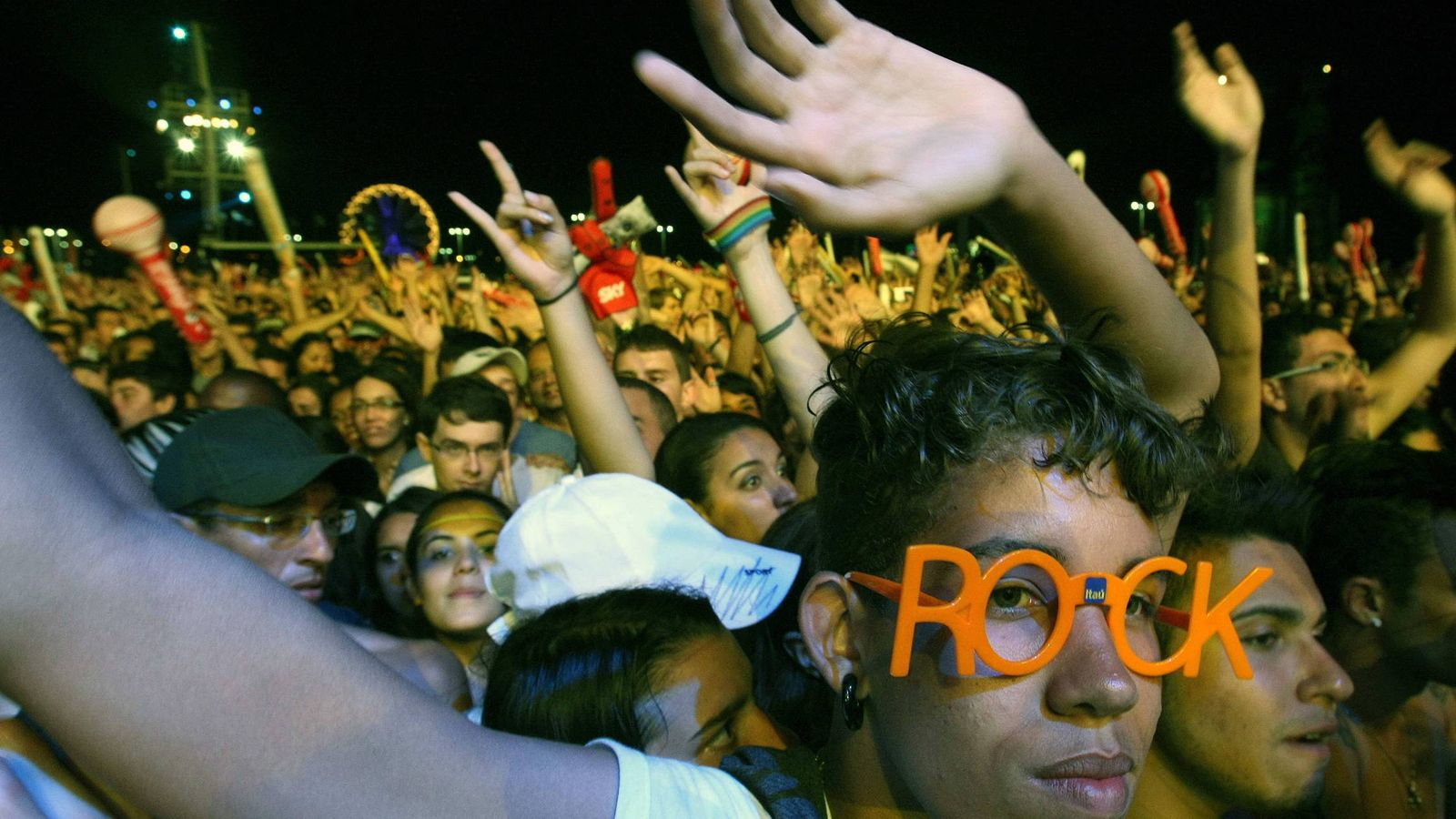 Foto: Festival Rock in Rio en Brasil. (EFE)