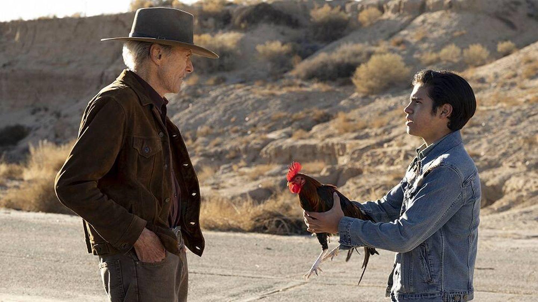Clint Eastwood y Eduardo Minett, en 'Cry Macho'.