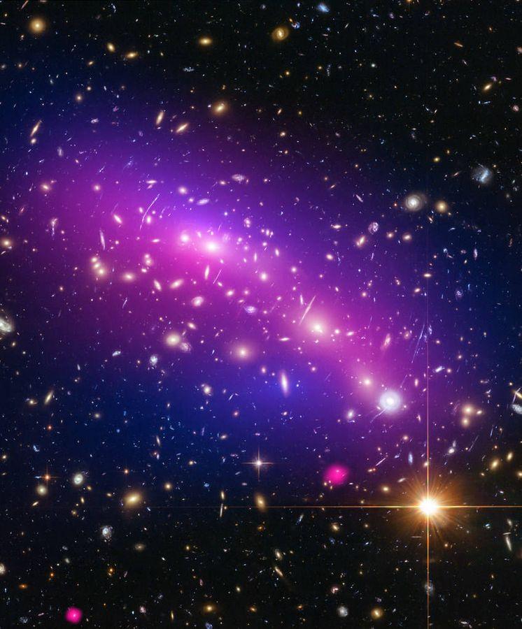 Foto:  Clústers de galaxias (Smithsonian Institution / Flickr)