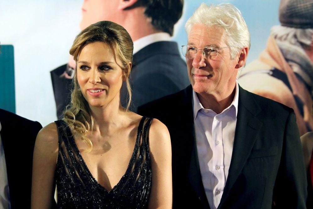 Foto: Richard Gere y Alejandra Silva en una imagen de archivo. (Reuters)