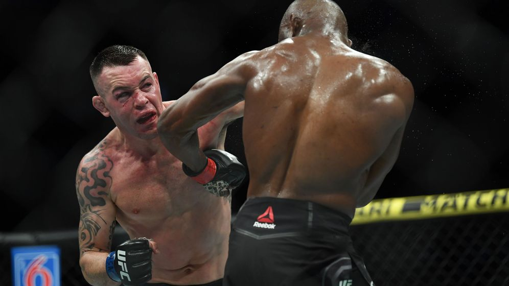 Foto: Colby Covington en UFC 245 (USA TODAY Sports)