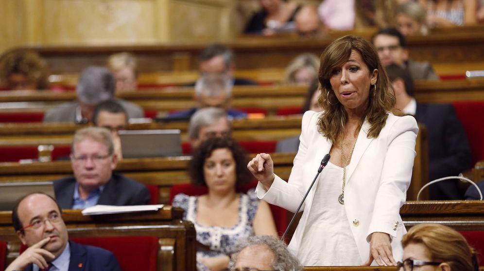 Foto: La presidenta del PPC, Alicia Sánchez-Camacho. (EFE)