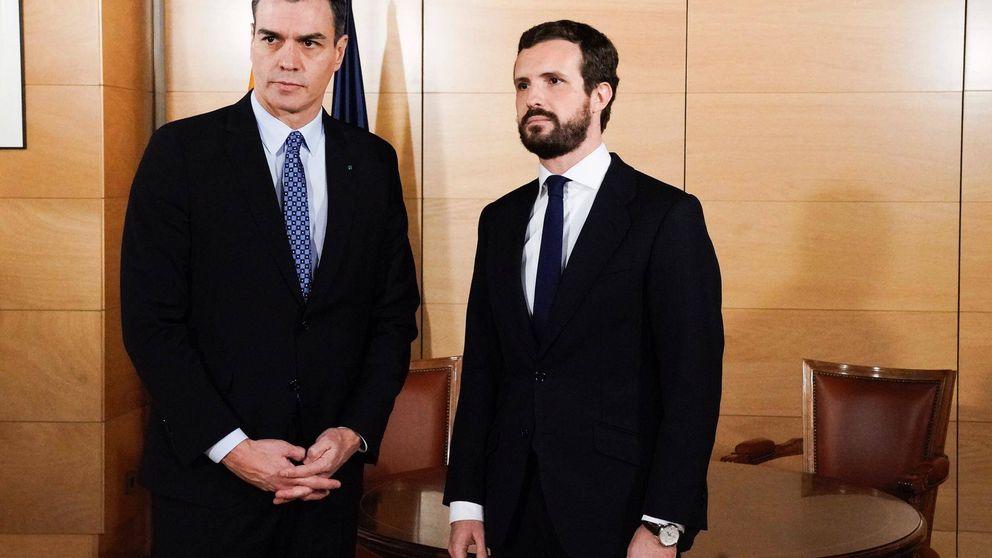 Casado acusa a Sánchez de utilizar al PP de coartada para su acuerdo con Podemos