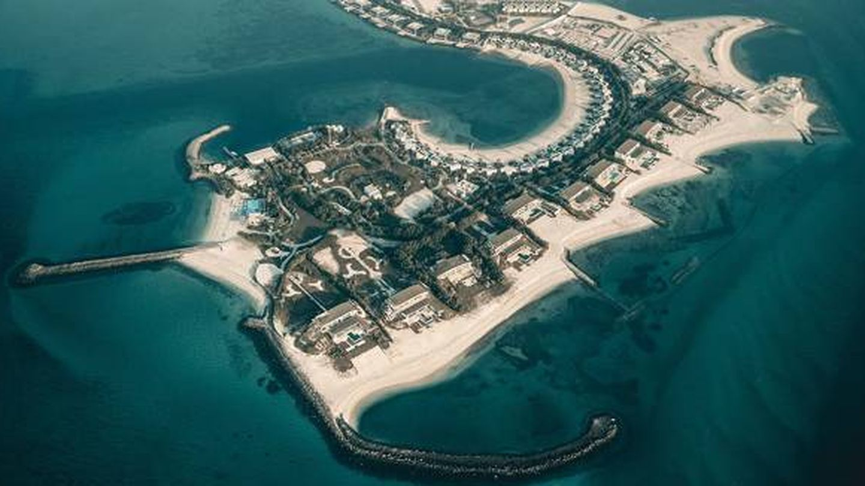 Vista aérea de la isla de Nurai. (Telecinco)