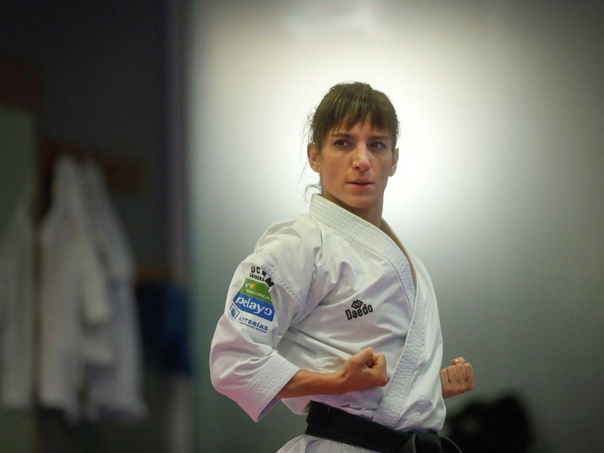 Foto: La karateca Sandra Sánchez es una de las mejores opciones de medalla para España. (EFE)