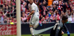 Post de El Madrid sobrevive a Bilbao con pegada, porque el fútbol sigue ausente