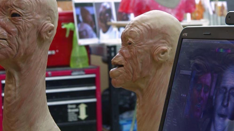 Foto: Animatronics usados en Star Wars