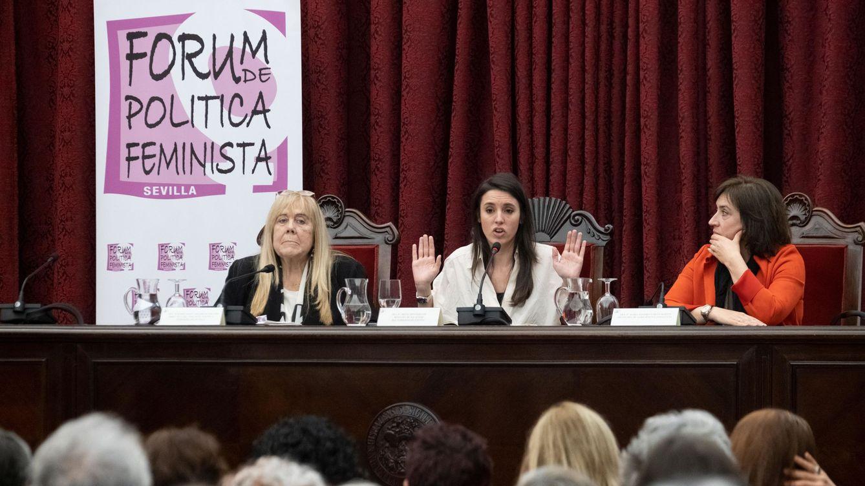 Irene Montero reivindica a la socialista Aído en plena pugna feminista