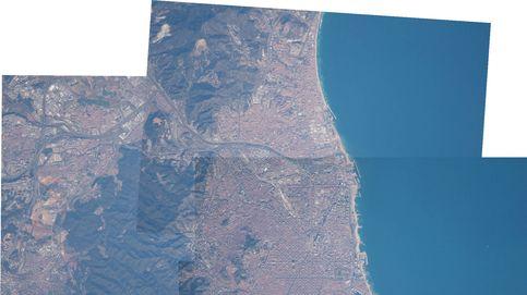 La mejor foto panorámica de Barcelona tomada desde el espacio