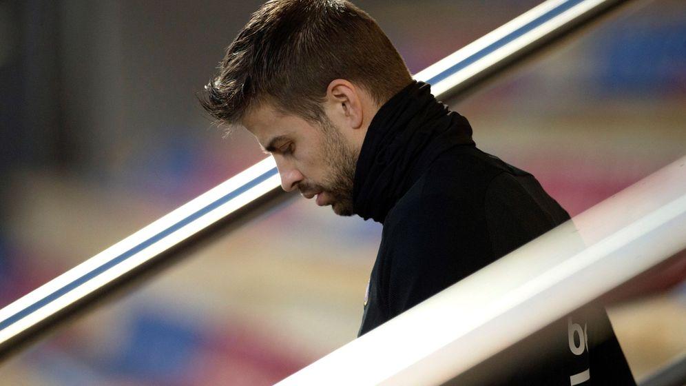 Foto: Gerard Piqué, defensa central del FC Barcelona. (EFE)