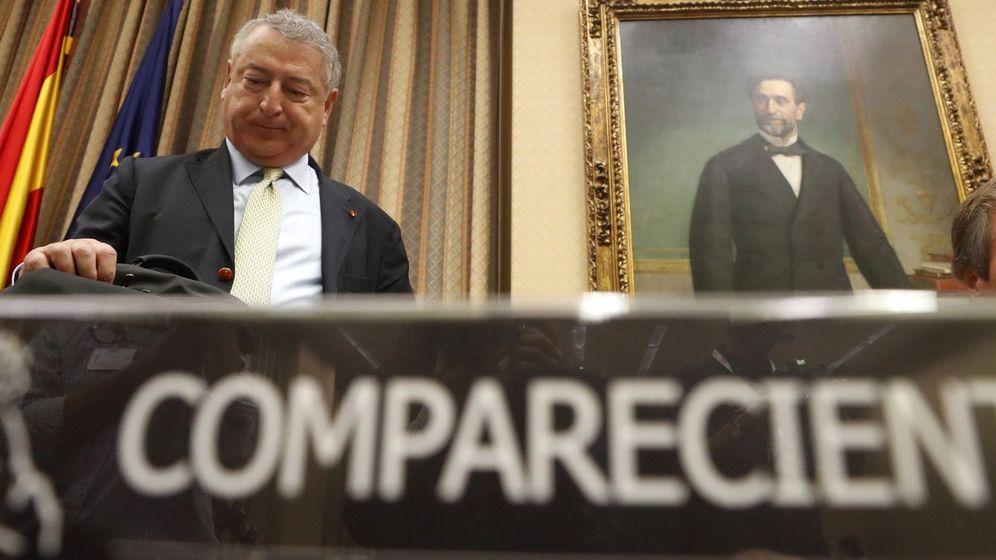 Foto: José Antonio Sánchez, presidente de RTVE, el pasado 29 de mayo en la Comisión Mixta de Control de la corporación. (EFE)