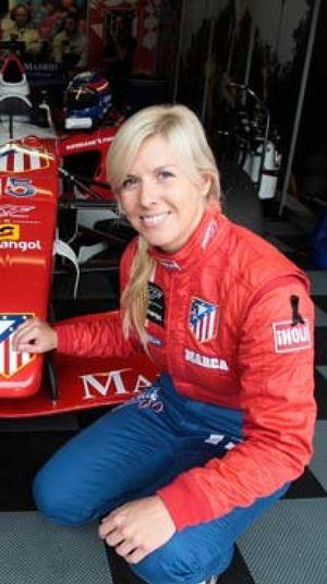 Foto: María de Villota, ¿una española al volante de un Fórmula 1?