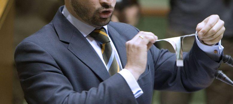 Foto: Santiago Abascal, uno de los promotores del nuevo partido. (EFE)