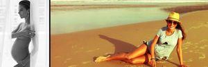Alessandra Ambrosio, desnuda y embarazadísima