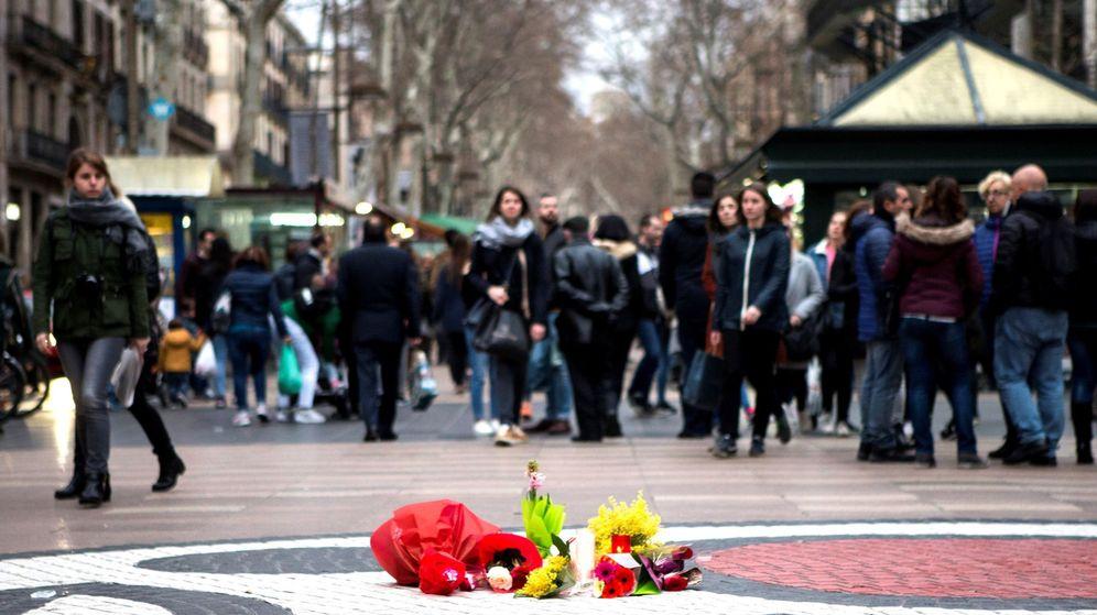 Foto: Aniversario de los atentados de Barcelona. (EFE)
