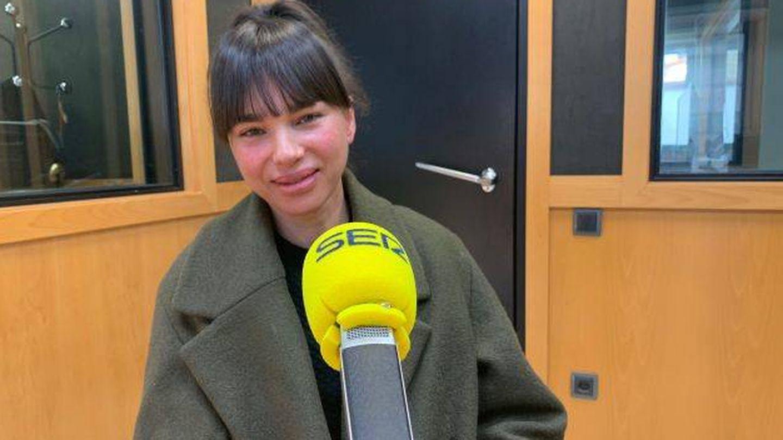 Beatriz Montañez, durante la entrevista. (Cadena SER)