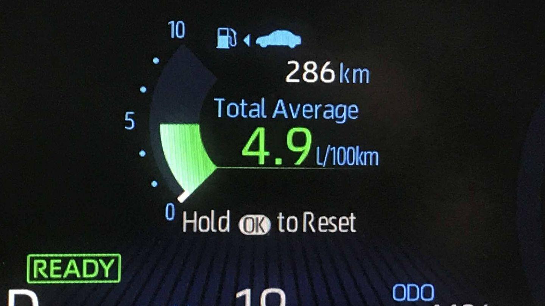 Este fue el resultado de nuestra prueba tras recorrer 800 kilómetros.