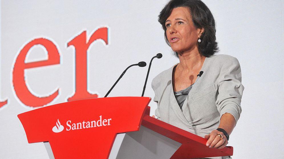 Foto: La presidenta del Banco Santander, Ana Botín (EFE)