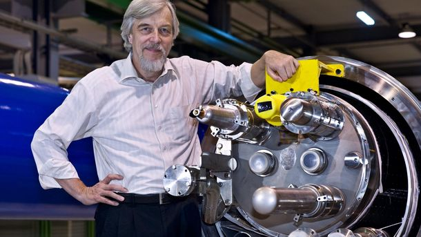 Foto: Rolf Heuer, director del CERN: El modelo europeo no es viable sin inversión en ciencia