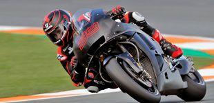 Post de El silencio de Jorge Lorenzo en su positivo estreno con Honda