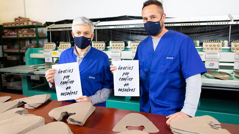 Las Yuccs se diseñan en Mallorca y se fabrican en Elche, dando empleo a más de 100 familias